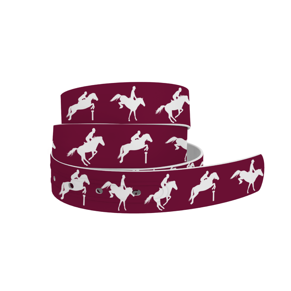 C4 Belts Belt EQ Jump Maroon C4 Belt equestrian team apparel online tack store mobile tack store custom farm apparel custom show stable clothing equestrian lifestyle horse show clothing riding clothes horses equestrian tack store