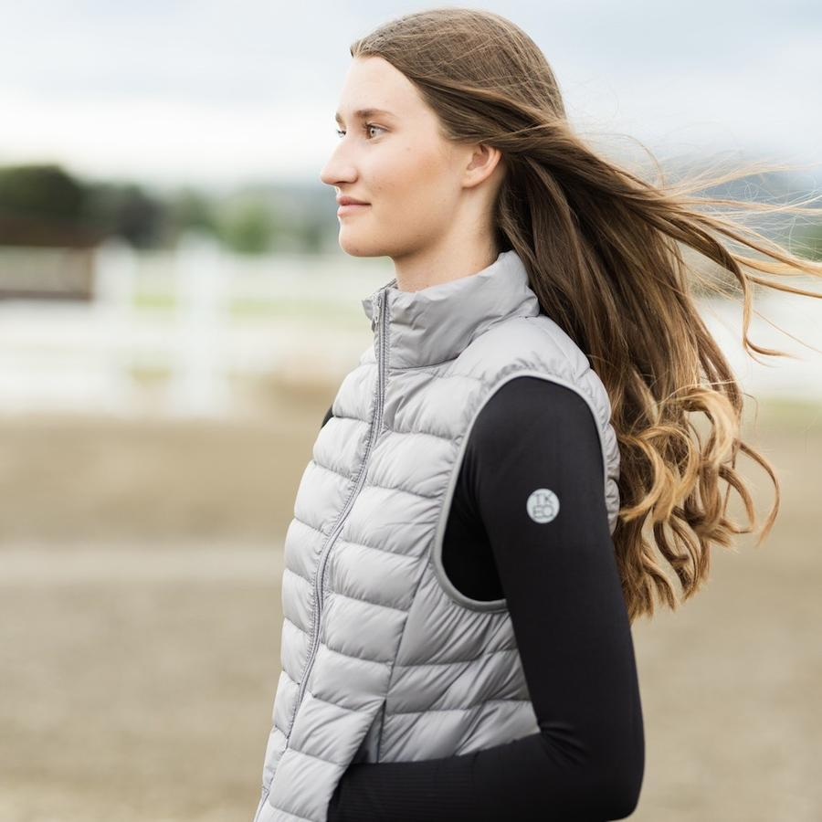 TKEQ Jacket XS / COVE EZ Packable Down Vest - COVE equestrian team apparel online tack store mobile tack store custom farm apparel custom show stable clothing equestrian lifestyle horse show clothing riding clothes horses equestrian tack store