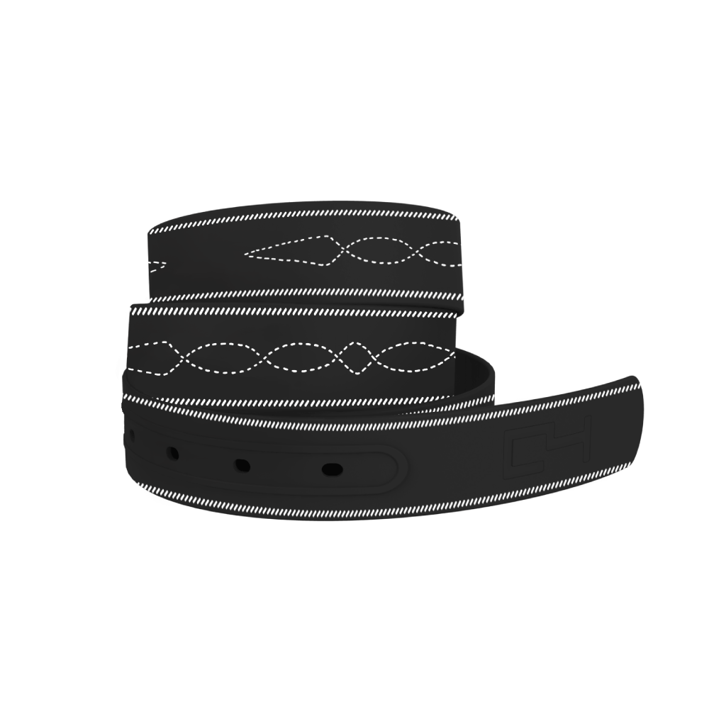 C4 Belts Belt ETA- Stitches Black C4 Belt equestrian team apparel online tack store mobile tack store custom farm apparel custom show stable clothing equestrian lifestyle horse show clothing riding clothes horses equestrian tack store