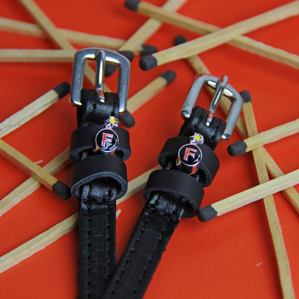 ManeJane Black Spur Straps F Bomb Spur Straps equestrian team apparel online tack store mobile tack store custom farm apparel custom show stable clothing equestrian lifestyle horse show clothing riding clothes horses equestrian tack store