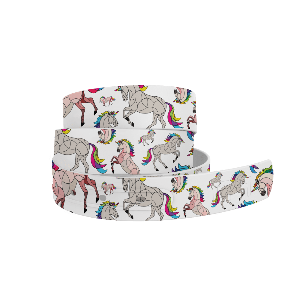 C4 Belts Belt Horse on the Loose - Unicorn C4 equestrian team apparel online tack store mobile tack store custom farm apparel custom show stable clothing equestrian lifestyle horse show clothing riding clothes horses equestrian tack store