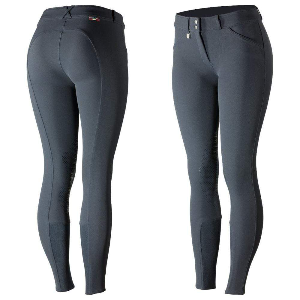 Horze Breeches US 22 (EU 34) / Peacoat Blue Horze Women's Grand Prix Knee Patch Breeches - Silicone Patches equestrian team apparel online tack store mobile tack store custom farm apparel custom show stable clothing equestrian lifestyle horse show clothing riding clothes horses equestrian tack store