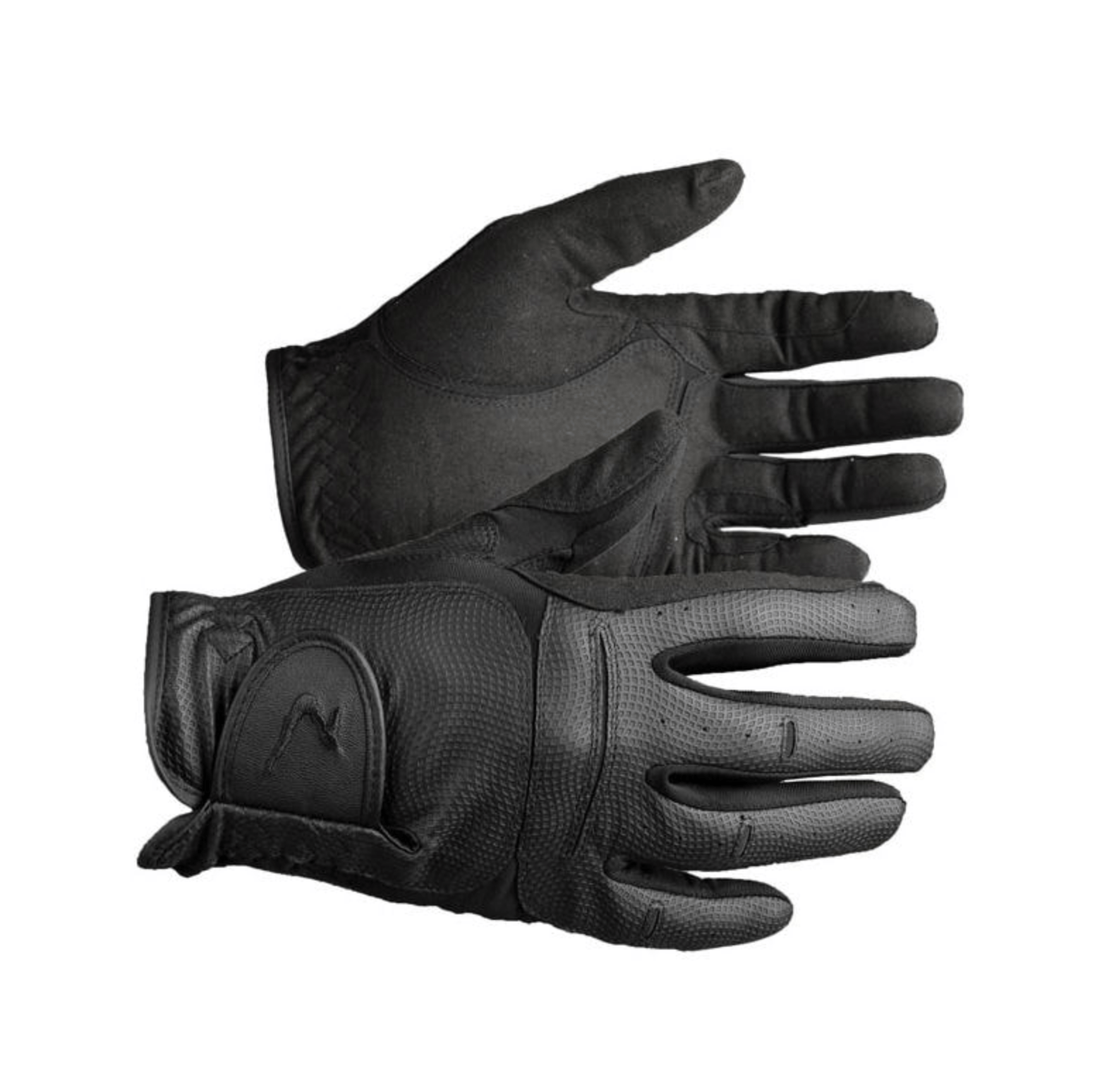 Horze Gloves XXXS/XS / BLACK Horze Elisabeth Gloves equestrian team apparel online tack store mobile tack store custom farm apparel custom show stable clothing equestrian lifestyle horse show clothing riding clothes horses equestrian tack store