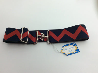 "Blue Ribbon Belts Belt Red/Black Zig Zags Blue Ribbon Belts 1.5"" equestrian team apparel online tack store mobile tack store custom farm apparel custom show stable clothing equestrian lifestyle horse show clothing riding clothes horses equestrian tack store"