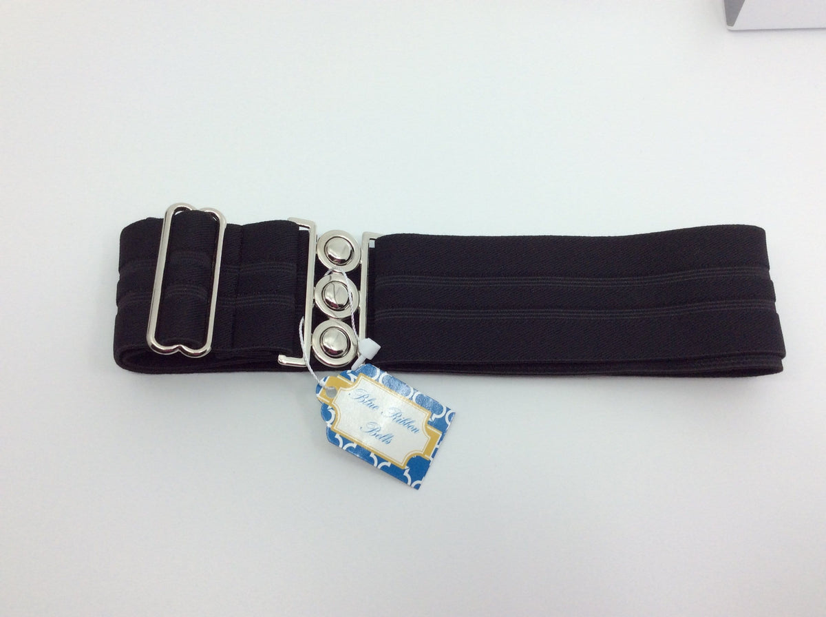 Blue Ribbon Belts Belt Black Strip/ 3 Dot Buckle Blue Ribbon Belts - 2 Inch equestrian team apparel online tack store mobile tack store custom farm apparel custom show stable clothing equestrian lifestyle horse show clothing riding clothes horses equestrian tack store