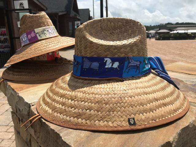 Island Girl Sun Hat Blue Ribbon Derby Day -Island Girls Hats equestrian team apparel online tack store mobile tack store custom farm apparel custom show stable clothing equestrian lifestyle horse show clothing riding clothes horses equestrian tack store