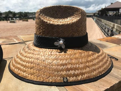 Island Girl Sun Hat One Size Bumble Bee Jewel Island Girl Hats equestrian team apparel online tack store mobile tack store custom farm apparel custom show stable clothing equestrian lifestyle horse show clothing riding clothes horses equestrian tack store