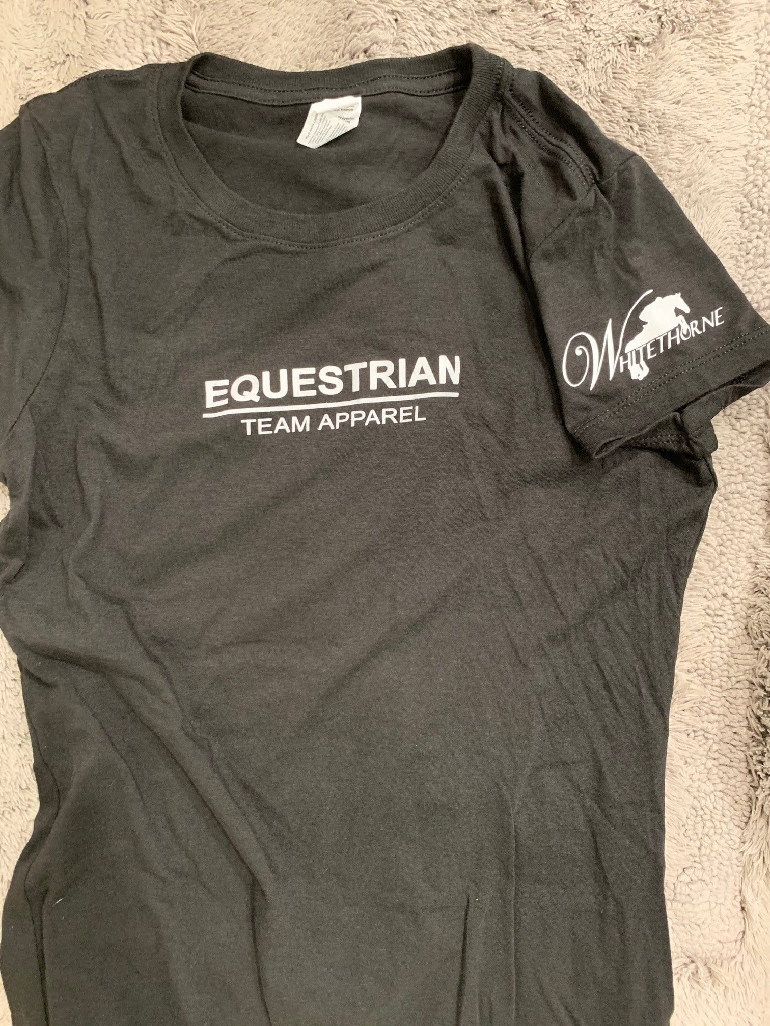 Equestrian Team Apparel Custom Shirts Whitehorne Jumper T-Shirt equestrian team apparel online tack store mobile tack store custom farm apparel custom show stable clothing equestrian lifestyle horse show clothing riding clothes horses equestrian tack store