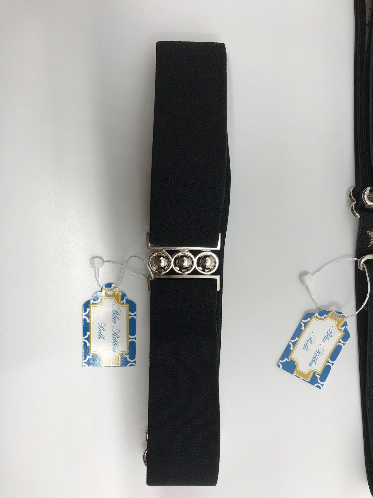 "Blue Ribbon Belts Belt Black Blue Ribbon Belts 1.5"" equestrian team apparel online tack store mobile tack store custom farm apparel custom show stable clothing equestrian lifestyle horse show clothing riding clothes horses equestrian tack store"