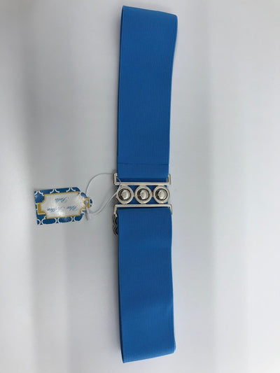Blue Ribbon Belts Belt Light Blue Blue Ribbon Belts - 2 Inch equestrian team apparel online tack store mobile tack store custom farm apparel custom show stable clothing equestrian lifestyle horse show clothing riding clothes horses equestrian tack store
