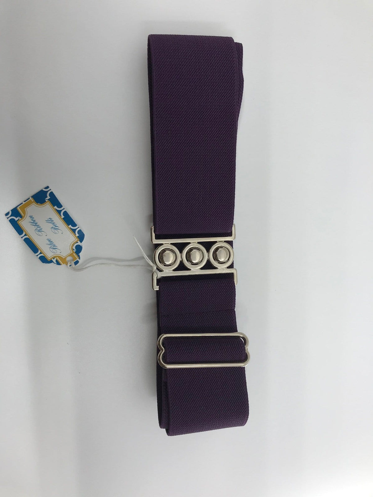 Blue Ribbon Belts Belt Dark Purple Blue Ribbon Belts - 2 Inch equestrian team apparel online tack store mobile tack store custom farm apparel custom show stable clothing equestrian lifestyle horse show clothing riding clothes horses equestrian tack store