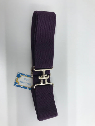 "Blue Ribbon Belts Belt Dark Purple Blue Ribbon Belts 1.5"" equestrian team apparel online tack store mobile tack store custom farm apparel custom show stable clothing equestrian lifestyle horse show clothing riding clothes horses equestrian tack store"