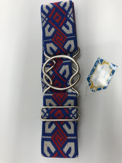 Blue Ribbon Belts Belt Red/Blue/White Design Blue Ribbon Belts - 2 Inch equestrian team apparel online tack store mobile tack store custom farm apparel custom show stable clothing equestrian lifestyle horse show clothing riding clothes horses equestrian tack store