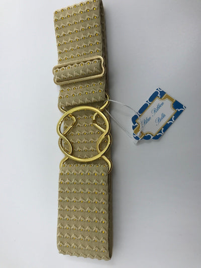 Blue Ribbon Belts Belt Gold Blue Ribbon Belts - 2 Inch equestrian team apparel online tack store mobile tack store custom farm apparel custom show stable clothing equestrian lifestyle horse show clothing riding clothes horses equestrian tack store