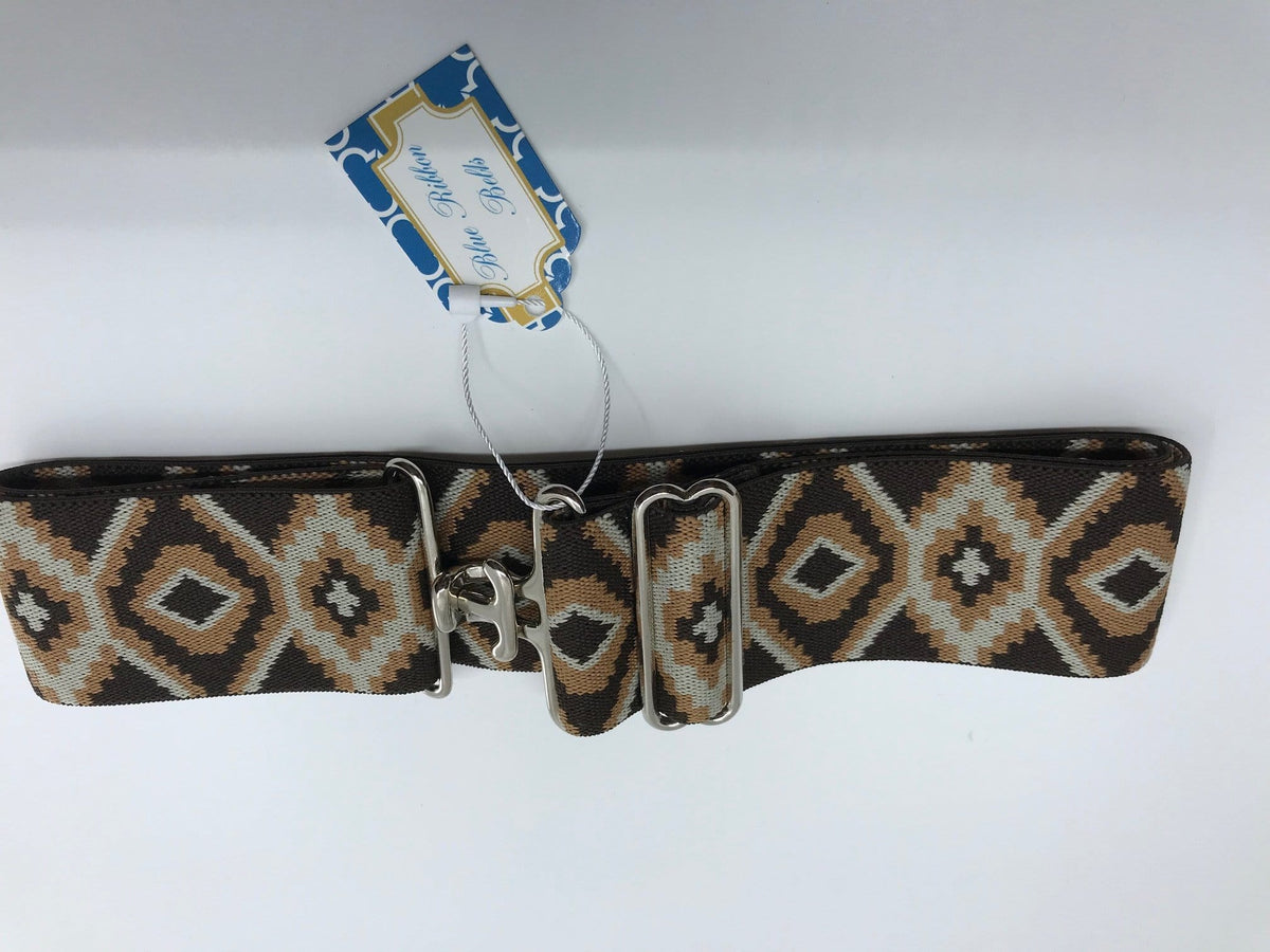 Blue Ribbon Belts Belt Brown/Tan Snakeskin Blue Ribbon Belts - 2 Inch equestrian team apparel online tack store mobile tack store custom farm apparel custom show stable clothing equestrian lifestyle horse show clothing riding clothes horses equestrian tack store