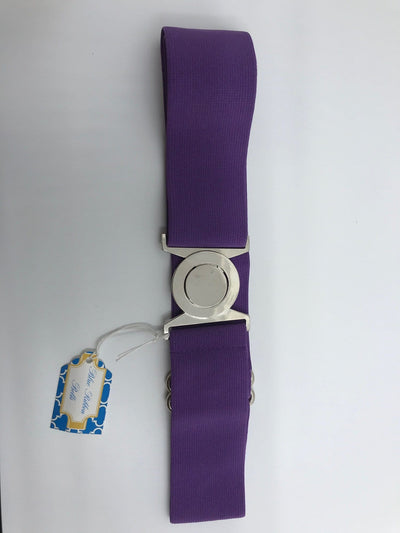 Blue Ribbon Belts Belt Dark Lavender Blue Ribbon Belts - 2 Inch equestrian team apparel online tack store mobile tack store custom farm apparel custom show stable clothing equestrian lifestyle horse show clothing riding clothes horses equestrian tack store