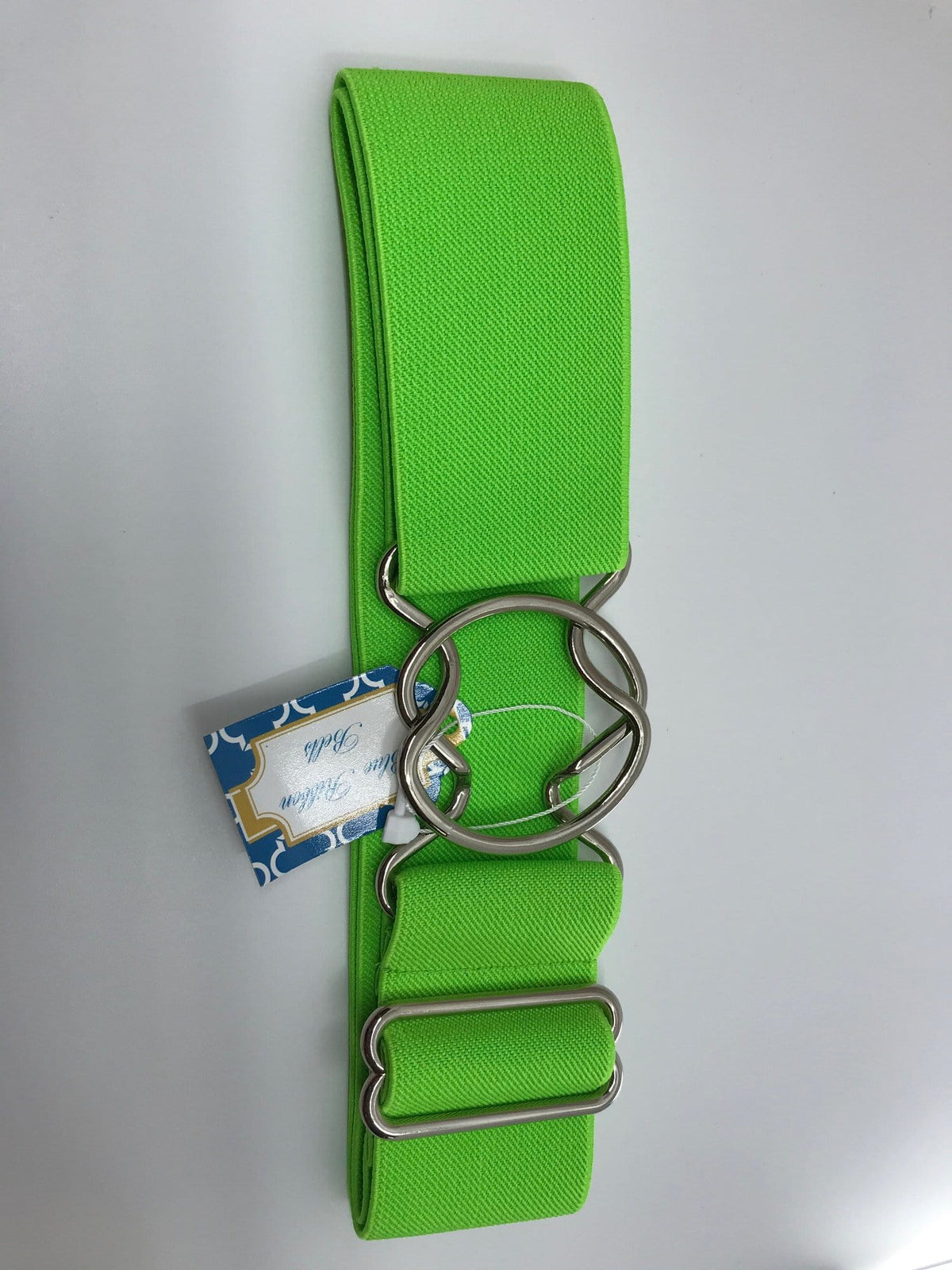 Blue Ribbon Belts Belt Bright Lime Blue Ribbon Belts - 2 Inch equestrian team apparel online tack store mobile tack store custom farm apparel custom show stable clothing equestrian lifestyle horse show clothing riding clothes horses equestrian tack store