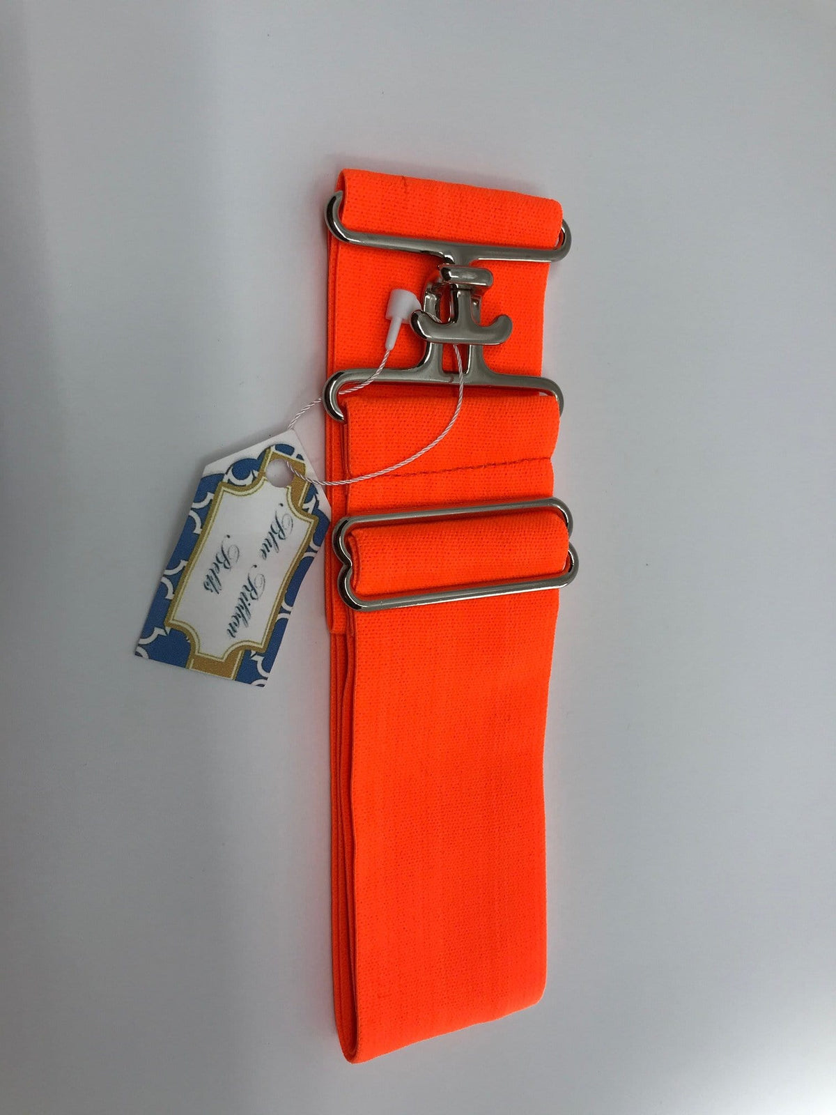Blue Ribbon Belts Belt Bright Orange Blue Ribbon Belts - 2 Inch equestrian team apparel online tack store mobile tack store custom farm apparel custom show stable clothing equestrian lifestyle horse show clothing riding clothes horses equestrian tack store