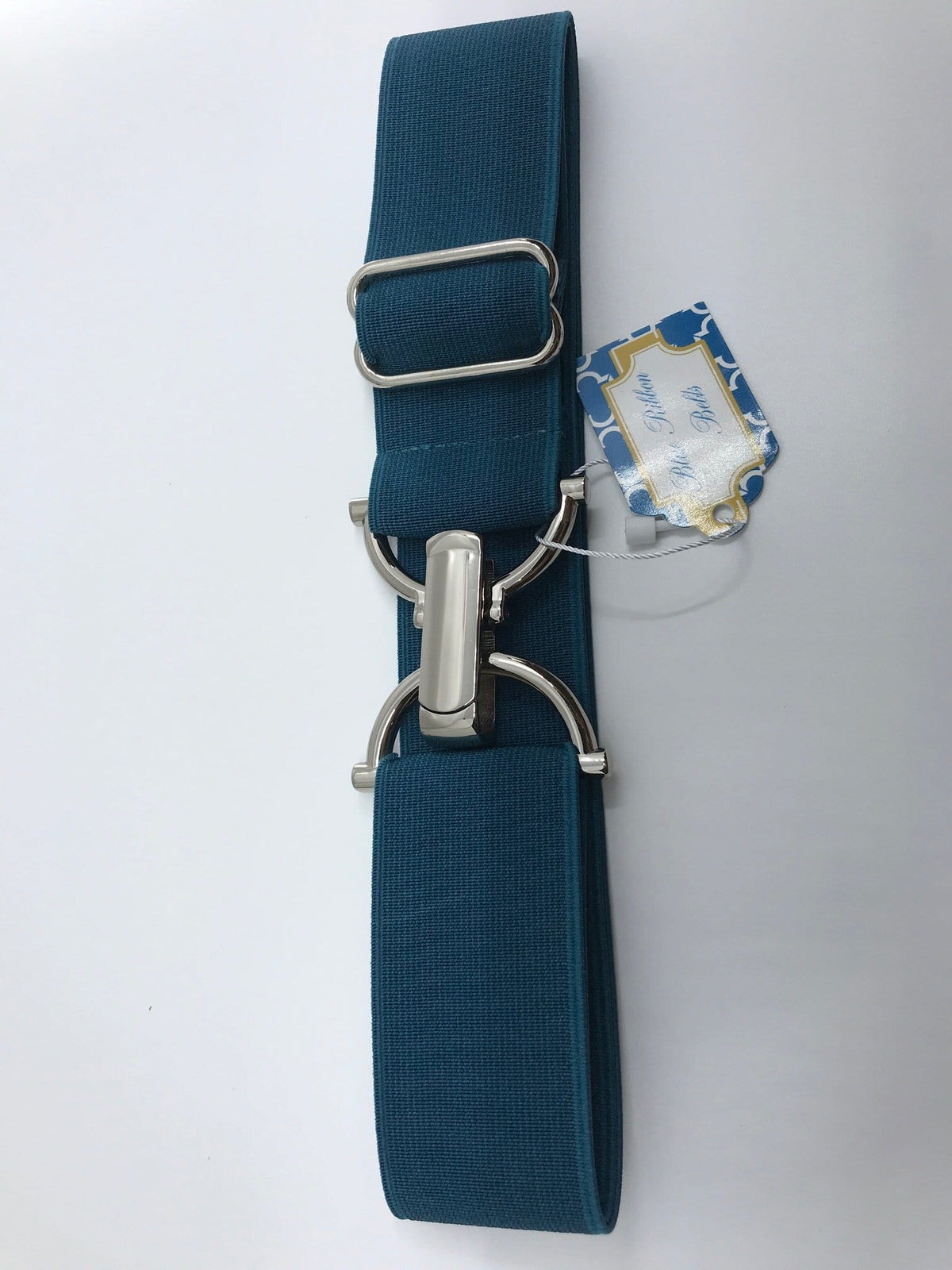 "Blue Ribbon Belts Belt Teal Blue Ribbon Belts 1.5"" equestrian team apparel online tack store mobile tack store custom farm apparel custom show stable clothing equestrian lifestyle horse show clothing riding clothes horses equestrian tack store"