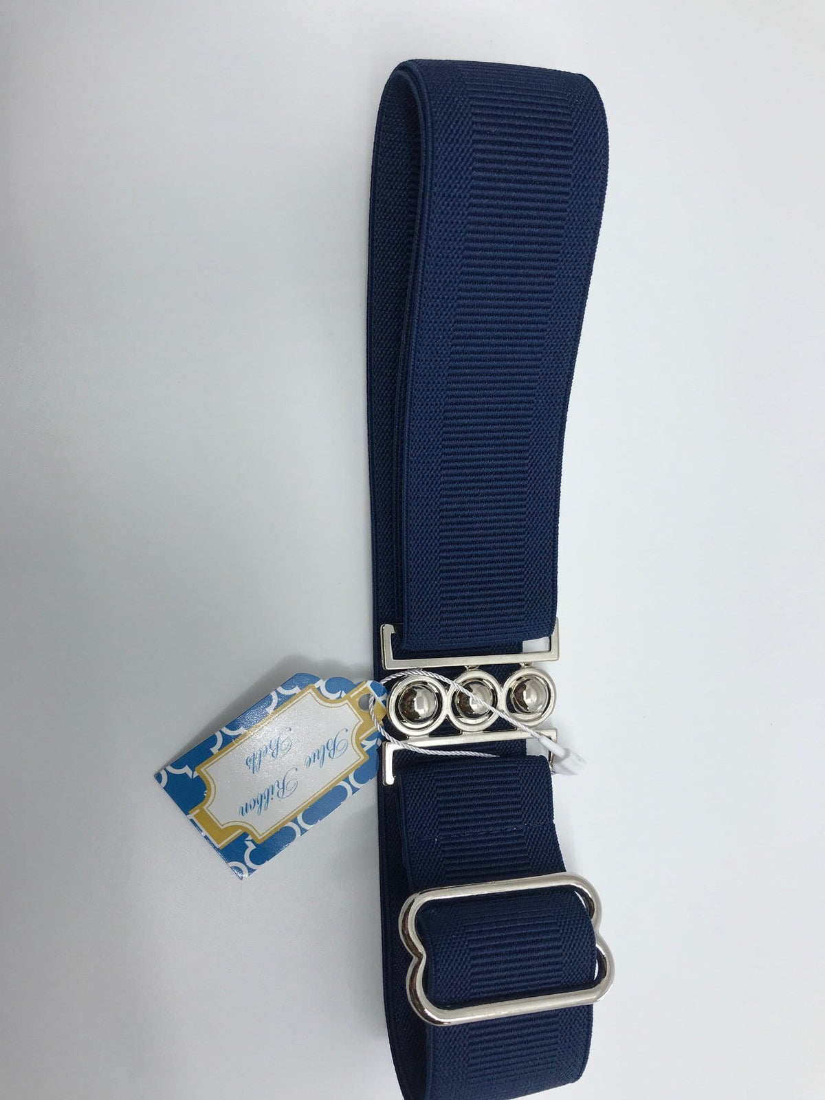 "Blue Ribbon Belts Belt Navy Blue Ribbon Belts 1.5"" equestrian team apparel online tack store mobile tack store custom farm apparel custom show stable clothing equestrian lifestyle horse show clothing riding clothes horses equestrian tack store"