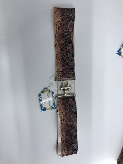 "Blue Ribbon Belts Belt Snake Skin Blue Ribbon Belts 1.5"" equestrian team apparel online tack store mobile tack store custom farm apparel custom show stable clothing equestrian lifestyle horse show clothing riding clothes horses equestrian tack store"