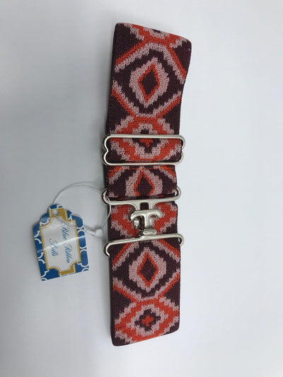 Blue Ribbon Belts Belt Burghandy/Orange Snakeskin Blue Ribbon Belts - 2 Inch equestrian team apparel online tack store mobile tack store custom farm apparel custom show stable clothing equestrian lifestyle horse show clothing riding clothes horses equestrian tack store