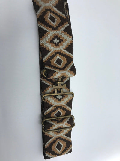 Blue Ribbon Belts Belt Brown/Tan Snakeskin w Brass Surcingle Blue Ribbon Belts - 2 Inch equestrian team apparel online tack store mobile tack store custom farm apparel custom show stable clothing equestrian lifestyle horse show clothing riding clothes horses equestrian tack store