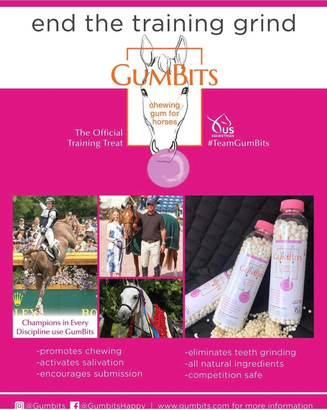 GumBits Treats GumBits - Training Treat equestrian team apparel online tack store mobile tack store custom farm apparel custom show stable clothing equestrian lifestyle horse show clothing riding clothes horses equestrian tack store