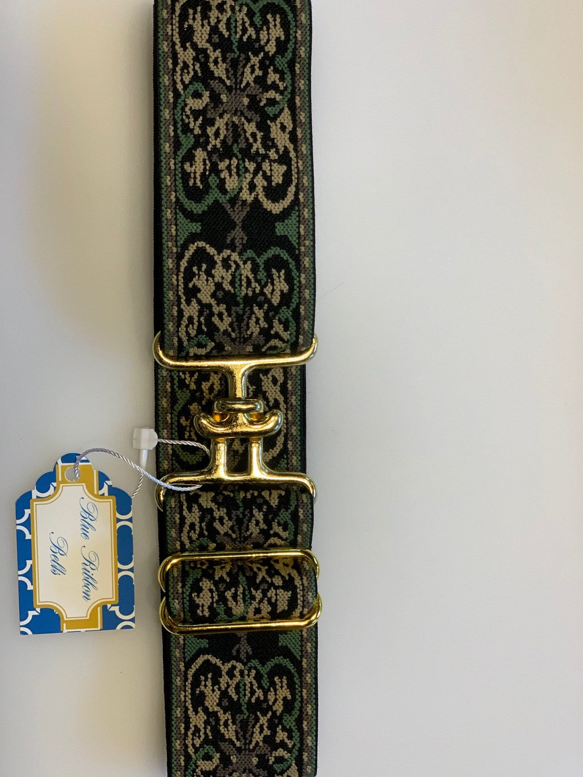"Blue Ribbon Belts Belt Floral Camo Blue Ribbon Belts 1.5"" equestrian team apparel online tack store mobile tack store custom farm apparel custom show stable clothing equestrian lifestyle horse show clothing riding clothes horses equestrian tack store"