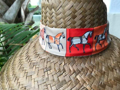 Island Girl Sun Hat One Size Derby Day -Island Girls Hats equestrian team apparel online tack store mobile tack store custom farm apparel custom show stable clothing equestrian lifestyle horse show clothing riding clothes horses equestrian tack store