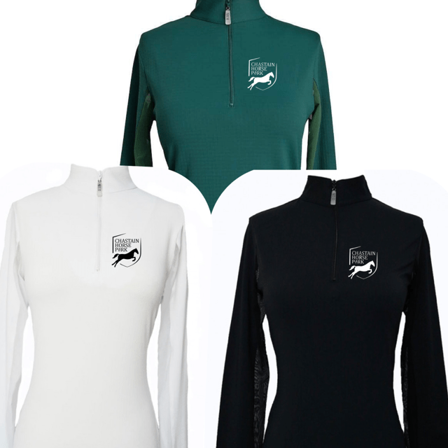Equestrian Team Apparel Custom Team Shirts Chastain Horse Park - Sun Shirts equestrian team apparel online tack store mobile tack store custom farm apparel custom show stable clothing equestrian lifestyle horse show clothing riding clothes horses equestrian tack store