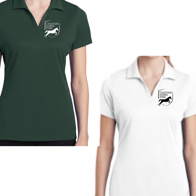Equestrian Team Apparel Custom Team Shirts Chastain Horse Park - Polo Shirt equestrian team apparel online tack store mobile tack store custom farm apparel custom show stable clothing equestrian lifestyle horse show clothing riding clothes horses equestrian tack store
