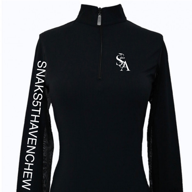 Equestrian Team Apparel Custom Team Shirts SNAKS 5TH AVE - EIS Sun Shirt equestrian team apparel online tack store mobile tack store custom farm apparel custom show stable clothing equestrian lifestyle horse show clothing riding clothes horses equestrian tack store