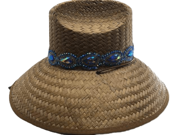 Island Girl Sun Hat One Size Mermaid Jewels Island Girl Hats equestrian team apparel online tack store mobile tack store custom farm apparel custom show stable clothing equestrian lifestyle horse show clothing riding clothes horses equestrian tack store