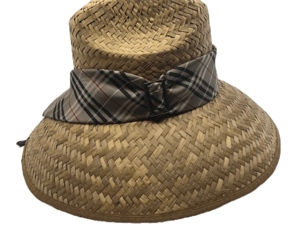 Island Girl Sun Hat One Size Burberry Plaid Ribbon Island Girl Hats equestrian team apparel online tack store mobile tack store custom farm apparel custom show stable clothing equestrian lifestyle horse show clothing riding clothes horses equestrian tack store