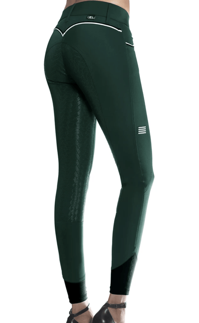 GhoDho Breeches sz 22 / Emerald GhoDho Adena Full Seat Breeches equestrian team apparel online tack store mobile tack store custom farm apparel custom show stable clothing equestrian lifestyle horse show clothing riding clothes horses equestrian tack store