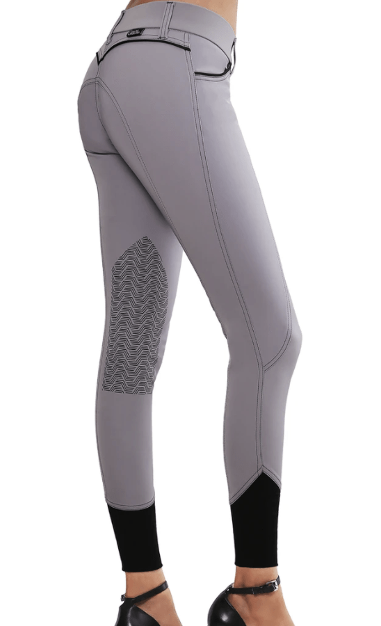 GhoDho Breeches 22 / Light Grey GhoDho Elara Breeches equestrian team apparel online tack store mobile tack store custom farm apparel custom show stable clothing equestrian lifestyle horse show clothing riding clothes horses equestrian tack store