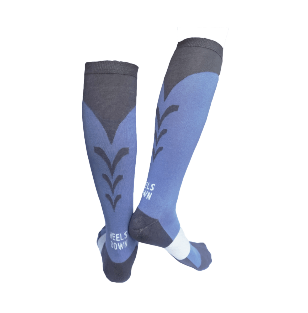 C4 Belts Socks C4 Riding Socks -Periwinkle/Grey equestrian team apparel online tack store mobile tack store custom farm apparel custom show stable clothing equestrian lifestyle horse show clothing riding clothes horses equestrian tack store