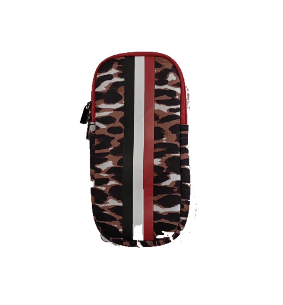 Haute Shore Bags Leopard Eye Glass Case equestrian team apparel online tack store mobile tack store custom farm apparel custom show stable clothing equestrian lifestyle horse show clothing riding clothes horses equestrian tack store