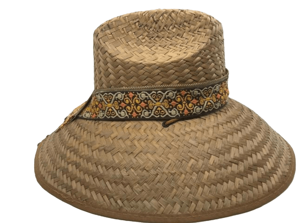 Island Girl Sun Hat One Size Earthy Design/Gold Zipper Island Girl Hats equestrian team apparel online tack store mobile tack store custom farm apparel custom show stable clothing equestrian lifestyle horse show clothing riding clothes horses equestrian tack store