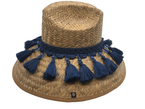 Island Girl Sun Hat One Size Fancy Fringe Island Girl Hats equestrian team apparel online tack store mobile tack store custom farm apparel custom show stable clothing equestrian lifestyle horse show clothing riding clothes horses equestrian tack store