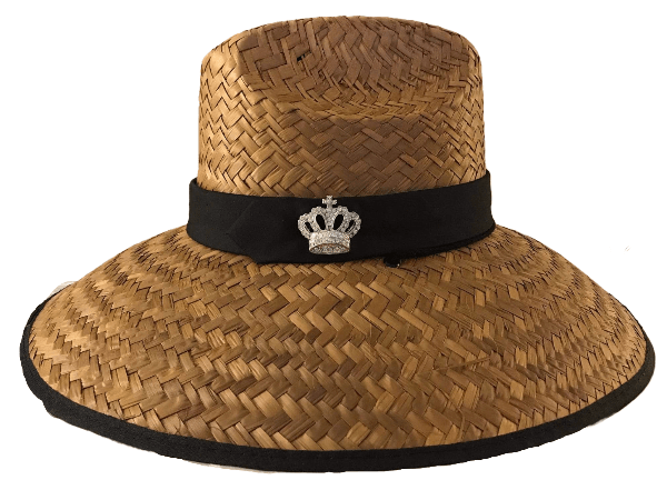 Island Girl Sun Hat One Size / Black Crown Island Girl Hats / Black Crown equestrian team apparel online tack store mobile tack store custom farm apparel custom show stable clothing equestrian lifestyle horse show clothing riding clothes horses equestrian tack store