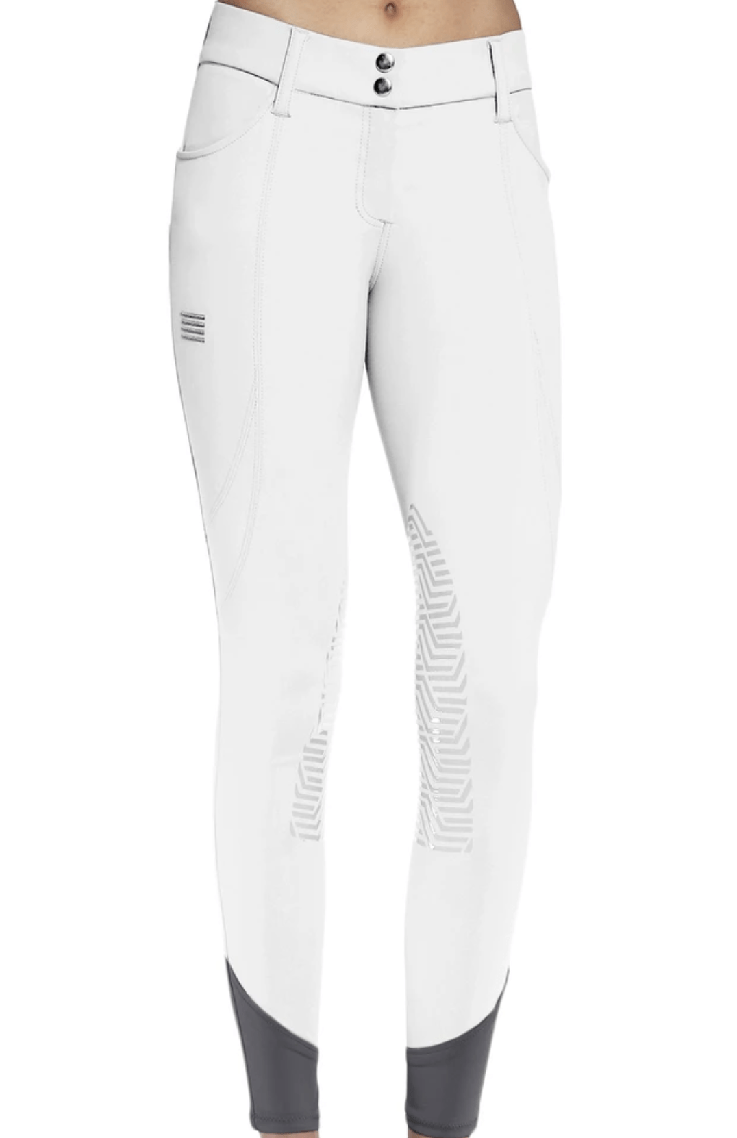 GhoDho Breeches GhoDho Tinley Pro White Breeches equestrian team apparel online tack store mobile tack store custom farm apparel custom show stable clothing equestrian lifestyle horse show clothing riding clothes horses equestrian tack store
