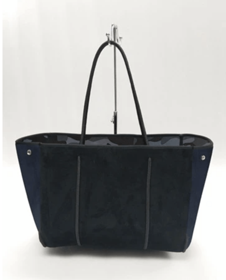 Haute Shore Bags Greyson Noir Tote equestrian team apparel online tack store mobile tack store custom farm apparel custom show stable clothing equestrian lifestyle horse show clothing riding clothes horses equestrian tack store