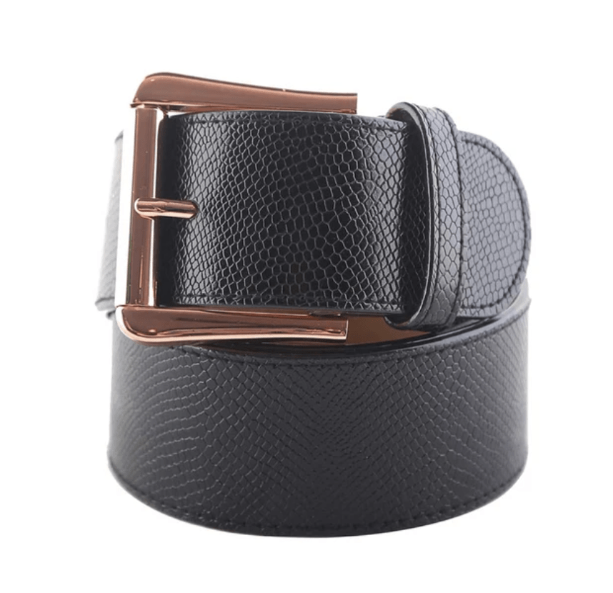 GhoDho Belt Small Cruelty Free GhoDho Belt -Jet Rose Gold equestrian team apparel online tack store mobile tack store custom farm apparel custom show stable clothing equestrian lifestyle horse show clothing riding clothes horses equestrian tack store