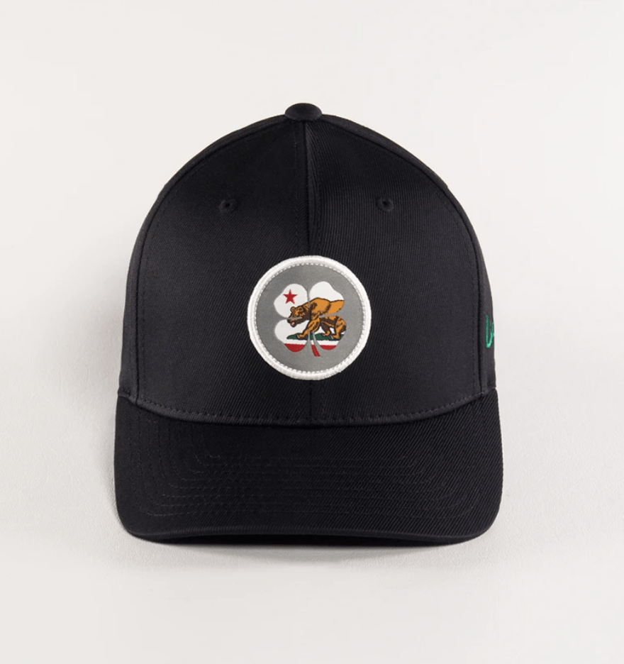 Black Clover Baseball Caps California Flag Nation - Snapback equestrian team apparel online tack store mobile tack store custom farm apparel custom show stable clothing equestrian lifestyle horse show clothing riding clothes horses equestrian tack store