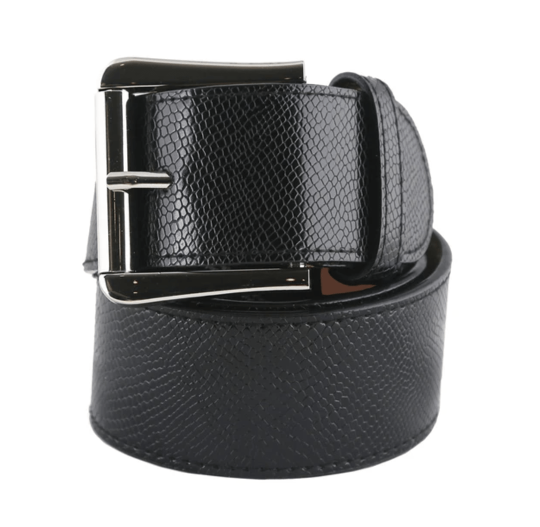 GhoDho Belt Cruelty Free GhoDho Belt - Jet Silver equestrian team apparel online tack store mobile tack store custom farm apparel custom show stable clothing equestrian lifestyle horse show clothing riding clothes horses equestrian tack store