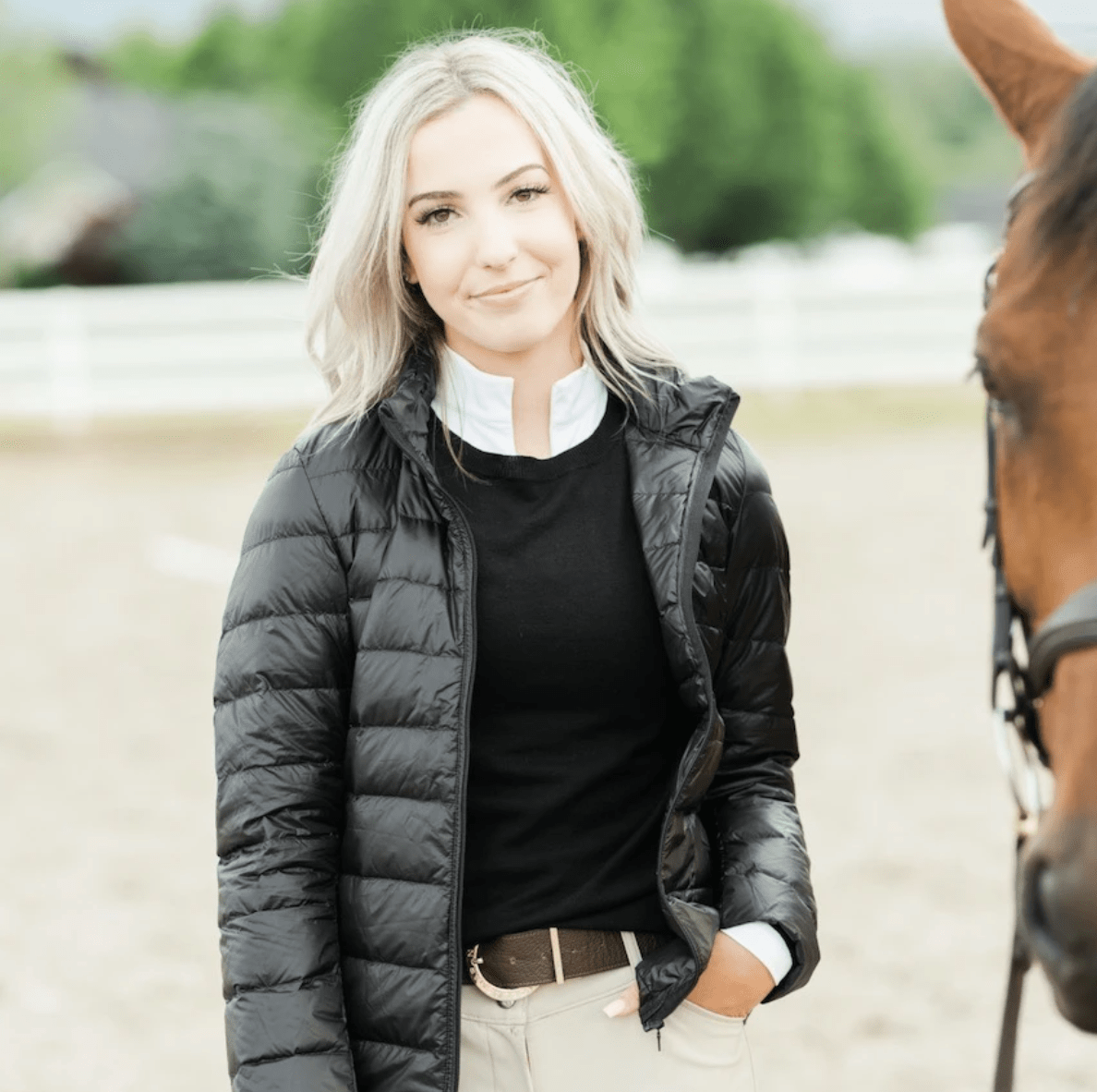 TKEQ Jacket XS EZ Packable Down Jacket- Classic Black equestrian team apparel online tack store mobile tack store custom farm apparel custom show stable clothing equestrian lifestyle horse show clothing riding clothes horses equestrian tack store