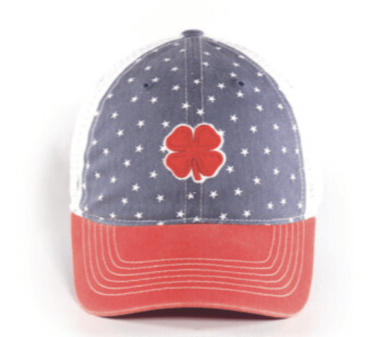 Black Clover Baseball Caps Lucky Star equestrian team apparel online tack store mobile tack store custom farm apparel custom show stable clothing equestrian lifestyle horse show clothing riding clothes horses equestrian tack store