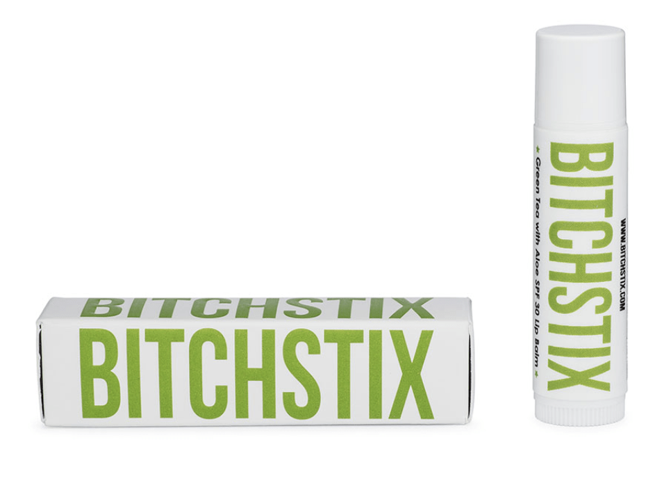 BitchStix Personal Care Green Tea Bitchstix Lip Balm Collection equestrian team apparel online tack store mobile tack store custom farm apparel custom show stable clothing equestrian lifestyle horse show clothing riding clothes Bitchstix Lip Balm at Equestrian Team Apparel horses equestrian tack store